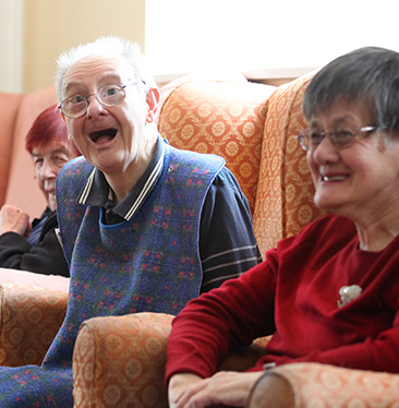 Chrislyn Care Home residents.